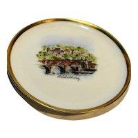 Heidelberg Souvenir Mini Porcelain Plate Lindner Kueps Bavaria