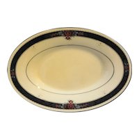 Noritake Etienne 7260 Oval Gravy Underplate Relish