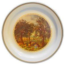Corning Corelle Currier Ives Four Seasons Apple Picking Autumn Dinner Plate