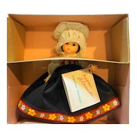 Madame Alexander Norway 584 Miniature Showcase New in Box 8 IN