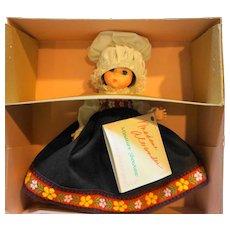 Madame Alexander Norway 584 Miniature Showcase New in Box 8 IN