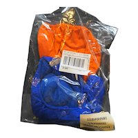 LL Bean LL Bear Elliot Cub Orange Blue Snowsuit OHS81 New