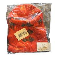 LL Bean LL Bear Ellie Red Coat