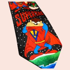 Supertaz Looney Tunes Tie 1993