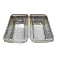 Princess House Fantasia Loaf Pans Pair