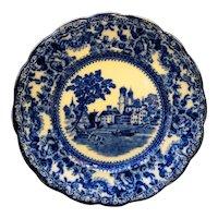 Togo Flow Blue F Winkle England Salad Plate C 1900