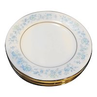 Noritake Milford Bread Plates Set of 4