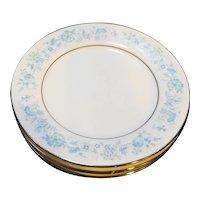 Noritake Milford Bread Plates Set of 4