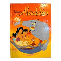 Aladdin Disney Classic Series Hardback Children's Book 1992
