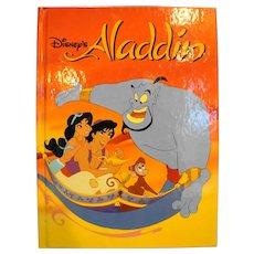 Aladdin Disney Classic Series Hardback Children's Book 1992