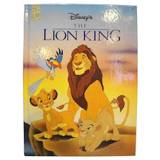The Lion King Disney Classics Hardback Children's Book 1994