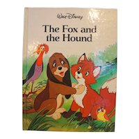 The Fox And The Hound Disney Classic Series Hardback Children's Book 1988