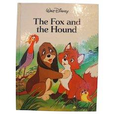 The Fox And The Hound Disney Classic Series Hardback Children's Book 1988