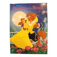 Beauty And The Beast Disney Classics Hardback Children's Book 1992