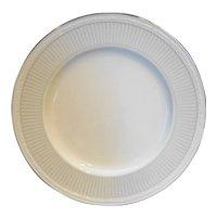 Noritake Sheridan Platinum White Scapes Dinner Plate