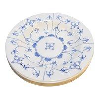 Arcopal Blue White Finlandia Rimmed Soup Bowls Set of 5