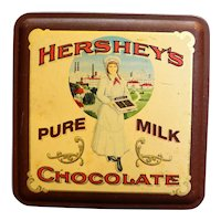 Hershey's Pure Milk Chocolate Tin Hershey Girl