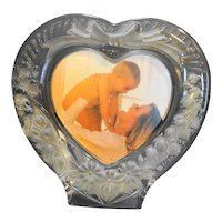 Studio Nova Amour Heart Shaped Frosted Glass Frame
