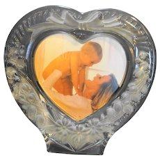 Studio Nova Amour Heart Shaped Frosted Glass Frame