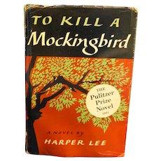 To Kill A Mockingbird Fifteenth Printing 1961 Pulitzer Prize