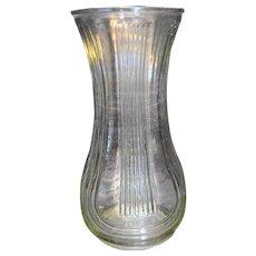 Hoosier Glass Clear Vase 4087 Large