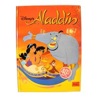 Aladdin Disney Classic Series Hardback Children's Book 1992 1st Edition Spain