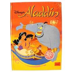 Aladdin Disney Classic Series Hardback Children's Book 1992 1st Edition Spain