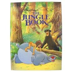 The Jungle Book Big Golden Book Walt Disney 1990