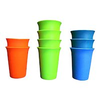 Tupperware Tumblers Rainbow 109 Set of 9
