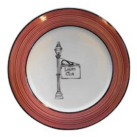 The Lanam Club Restaurant Ware Dinner Plate Coors Alox