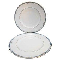 Royal Doulton Ashley H 5181 Dinner Plates Pair