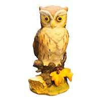 Great Horned Owl Figurine Andrea by Sadek 6315