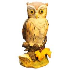 Great Horned Owl Figurine Andrea by Sadek 6315