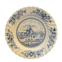 Johnson Bros England Tulip Time Blue Salad Plate