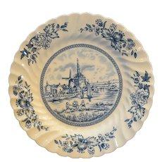 Johnson Bros England Tulip Time Blue Salad Plate