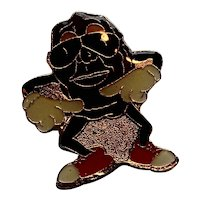 California Raisins Enamel Pin 1988