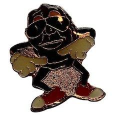 California Raisins Enamel Pin 1988
