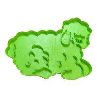 Wilton Green Plastic Sheep Cookie Cutter 1978
