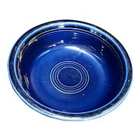 Fiesta Cobalt Blue Coupe Soup Bowl Homer Laughlin
