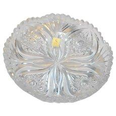 Nachtmann Florenz Shallow Round Crystal Bowl