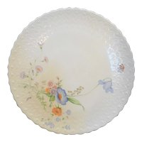 Mikasa Something Blue Bone China Porcelain Cake Plate
