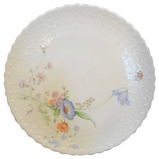 Mikasa Something Blue Bone China Porcelain Cake Plate