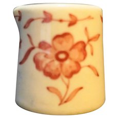 Red Flower Restaurant Ware Mini Individual Creamer