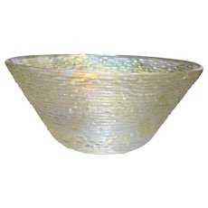 Anchor Hocking Soreno Aurora Iridescent Large Salad Bowl 11 IN 4 QT