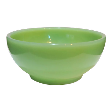 Fire King Jadeite Green Chili Bowl