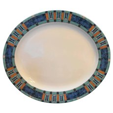 Pfaltzgraff Atmosphere Cityscapes Oval Platter