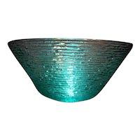 Soreno Aquamarine Green Large Serving Bowl Anchor Hocking 4 QT