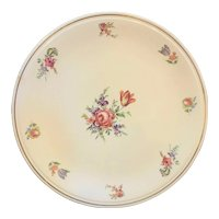Priscilla Cake Plate Kitchen Kraft Household Institute Homer Laughlin