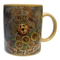 Loyal Order Friends of Boyds Sunny Day Sunflowers Mug