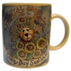 Loyal Order Friends of Boyds Sunny Day Sunflowers Mug